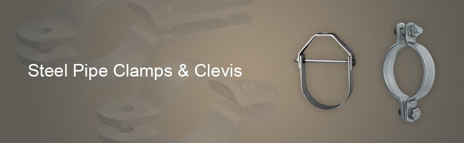 Steel Pipe Clamps and Clevis