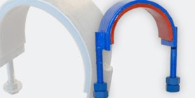Urethane-lined Hold Down Straps