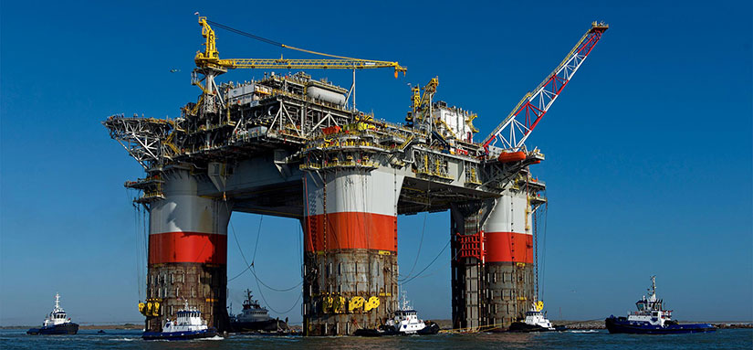Chevron's Big Foot tension leg platform (TLP)