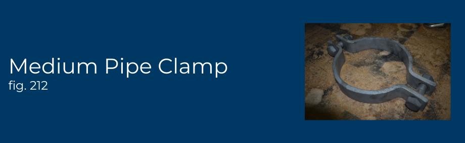 Medium Pipe Clamp fig 212