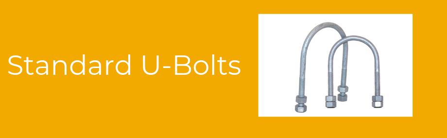 Standard U-Bolts -Orange