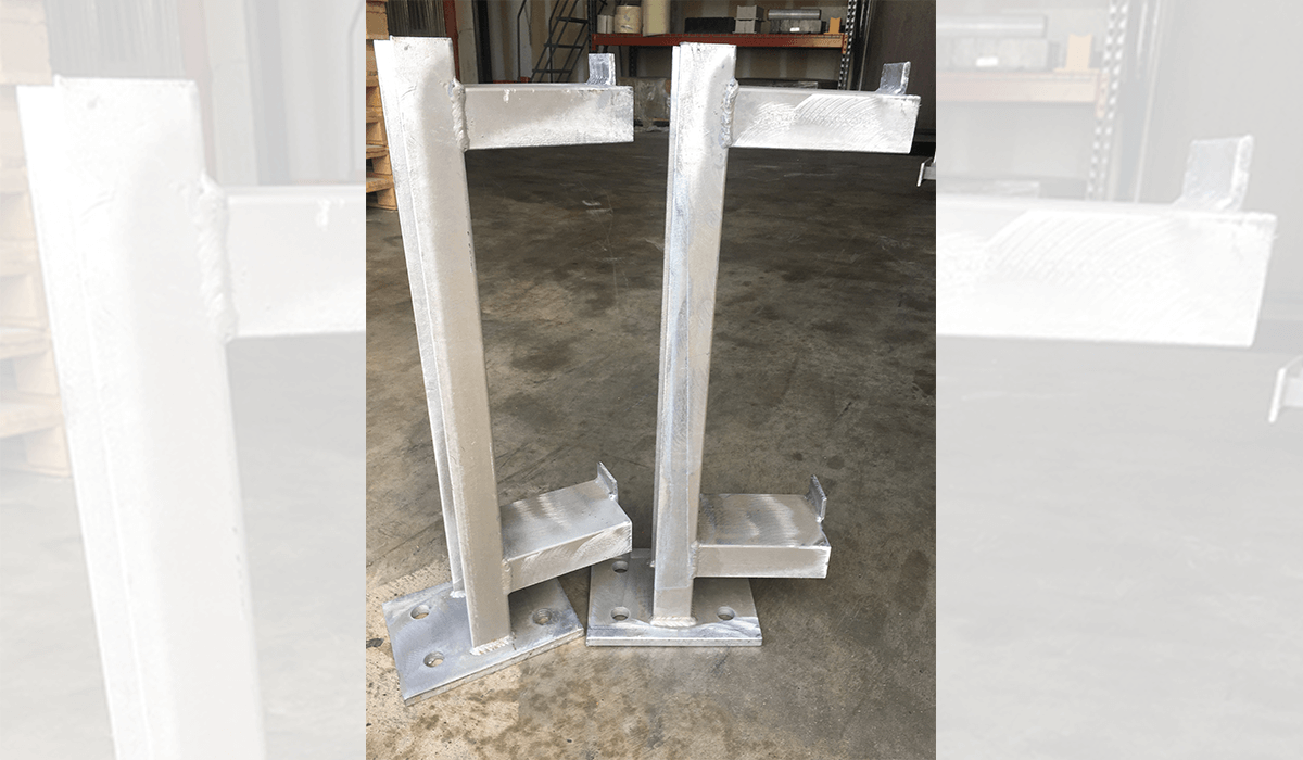 Custom pipe supports